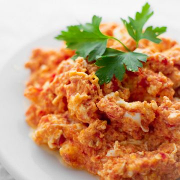 Tomato Scrambled Eggs