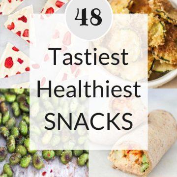tastiest healthiest snacks