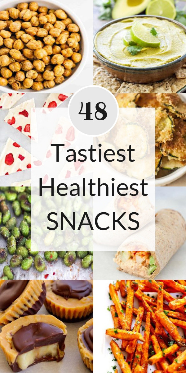 tastiest healthiest snacks