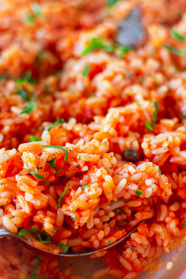 Tomato Baked Rice Recipe