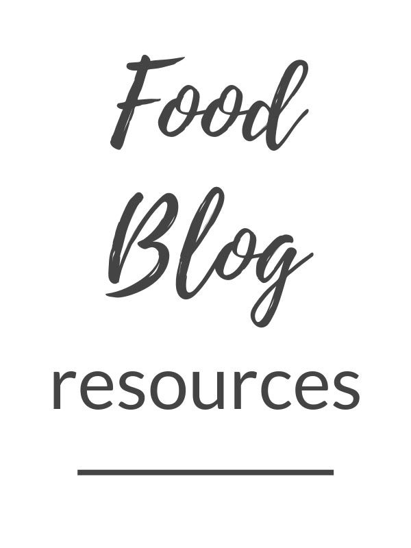 food-blog-resources