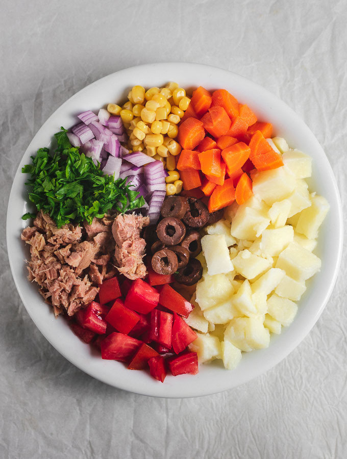 Healthy Tuna Salad Without Mayonnaise