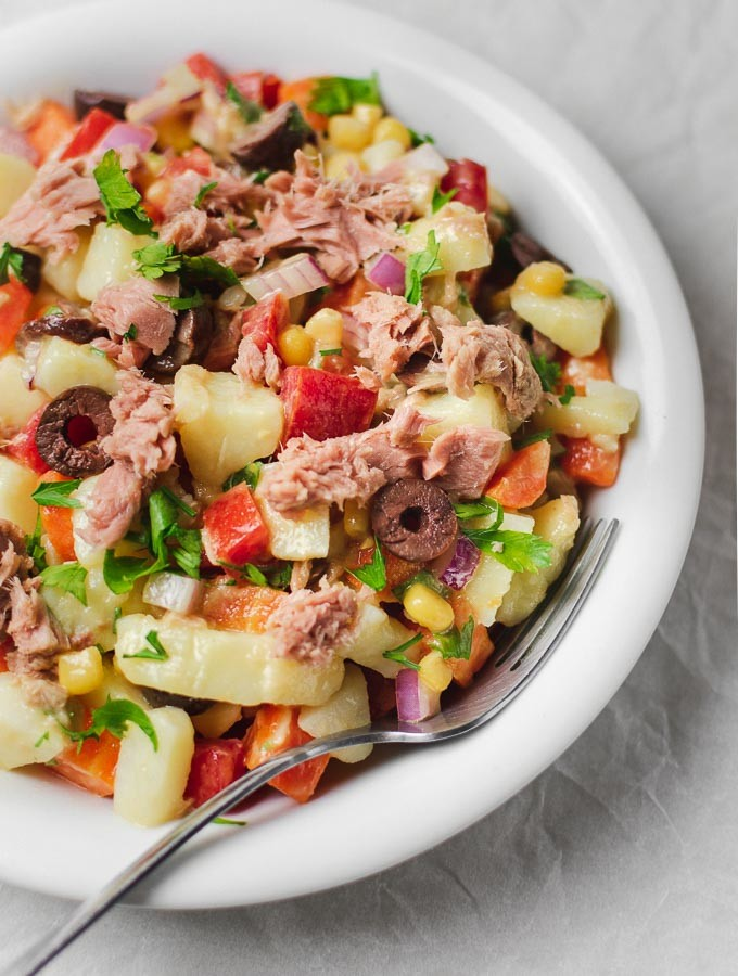 Potato-Tuna Salad