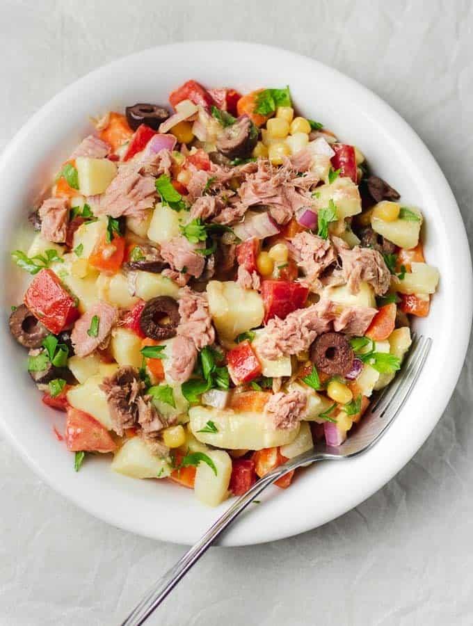 Tuna Salad No Mayo