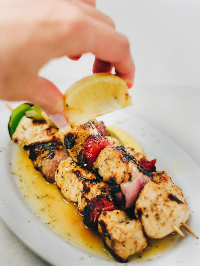 Chicken Souvlaki With Best Greek Yogurt Chicken Marinade Real Greek Recipes