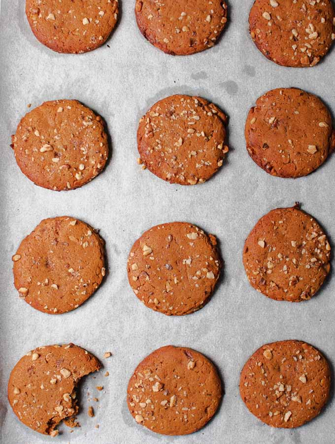 Healthy Walnut Cookies With Olive Oil Honey Sugar Free Real Greek Recipes