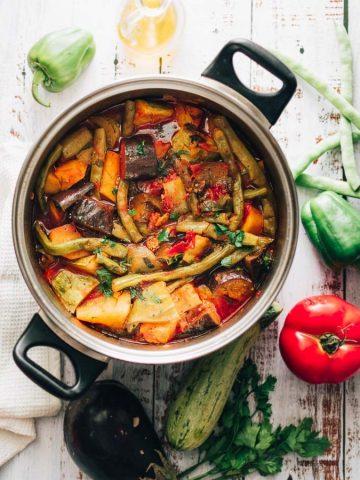 Greek Vegetable Stew