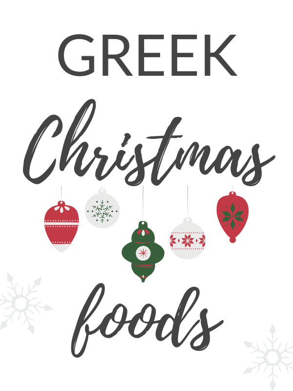 Greek Christmas Foods