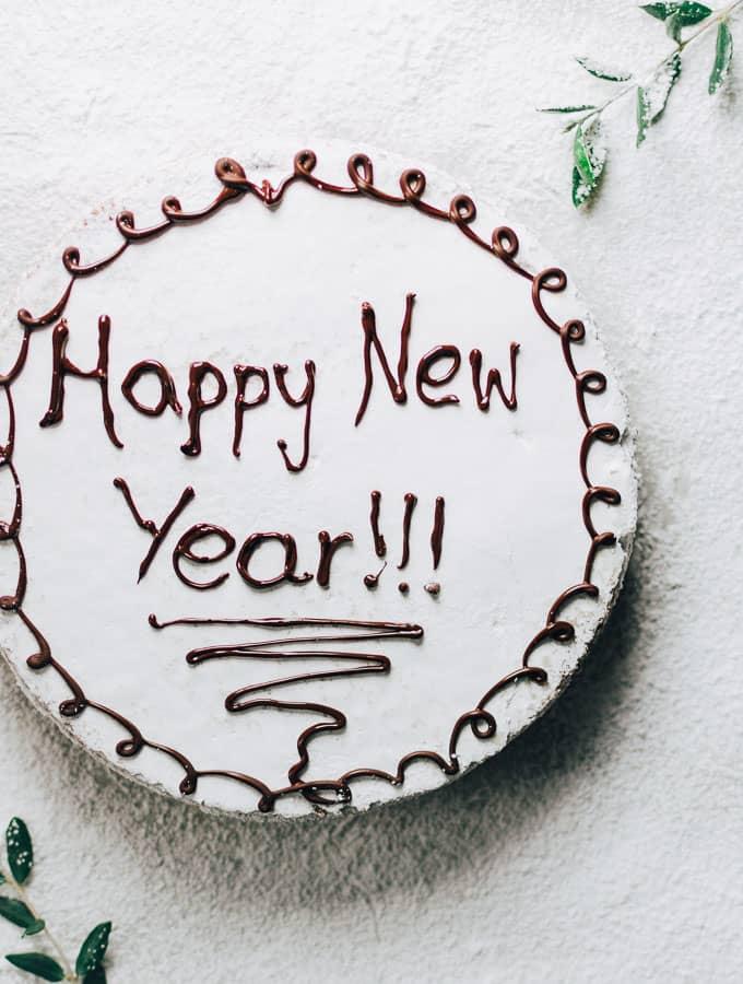 Greek New Year's Cake