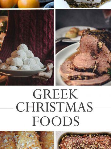 Greek Christmas Foods