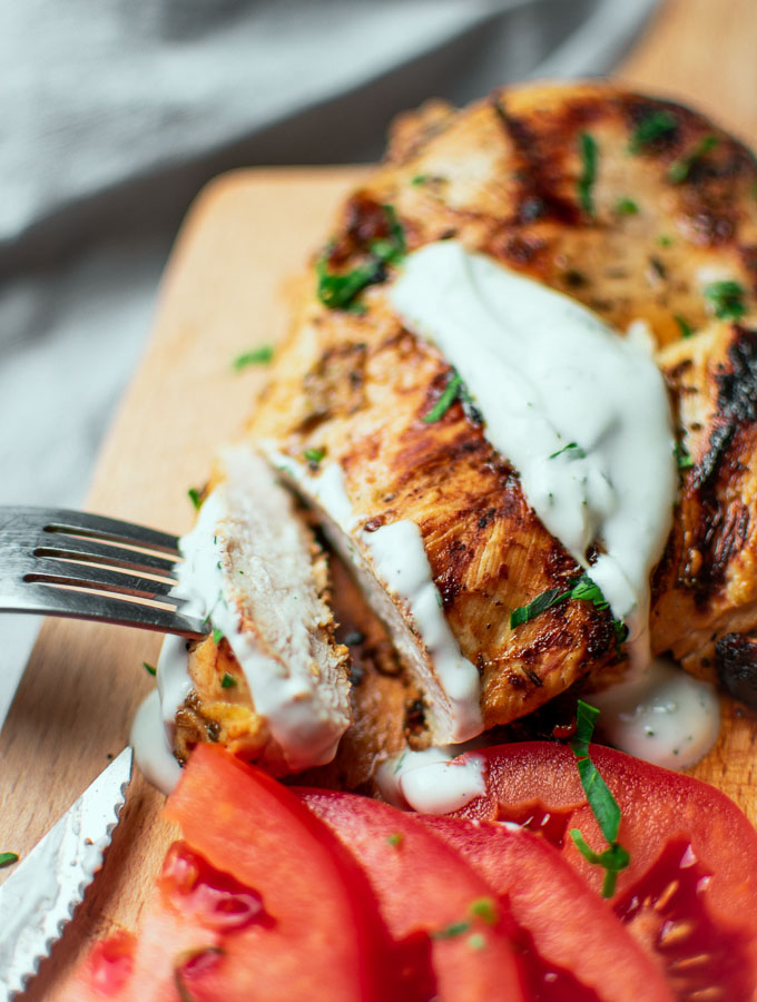 Chicken With Greek Yogurt