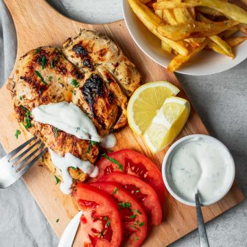 Chicken With Yogurt Sauce