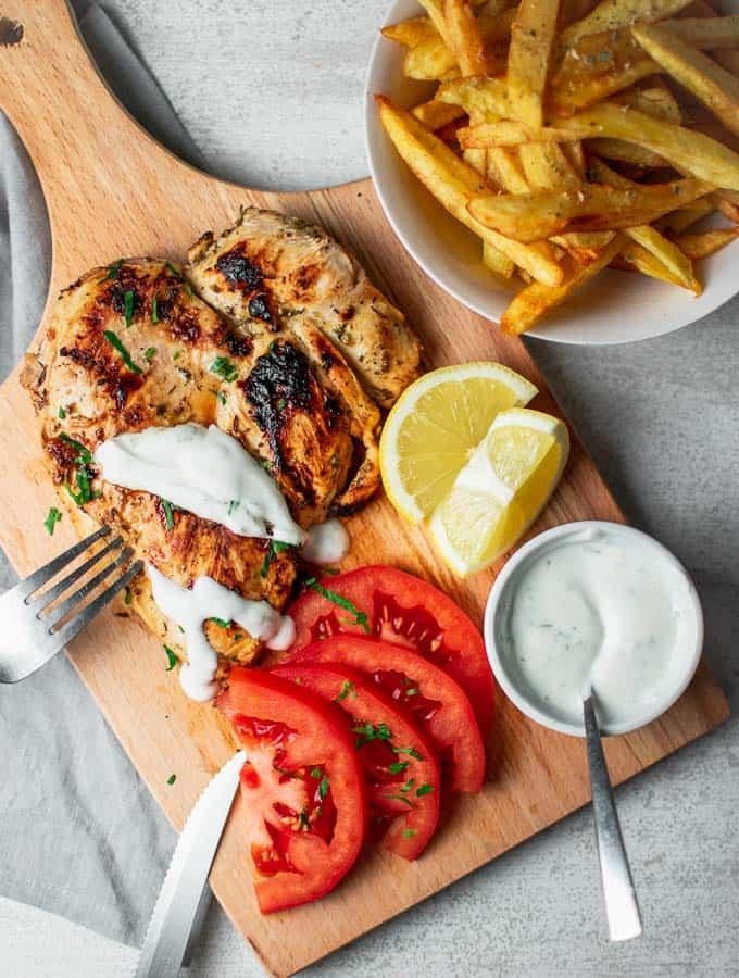 Chicken With Yogurt Sauce