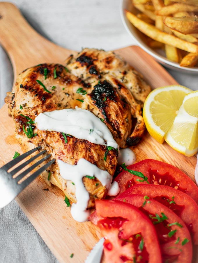 Grilled Chicken With Yogurt
