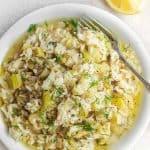 Leek Rice Pilaf