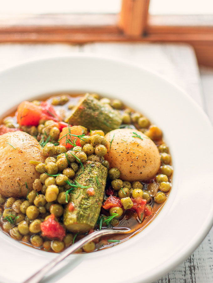 Greek Pea Stew
