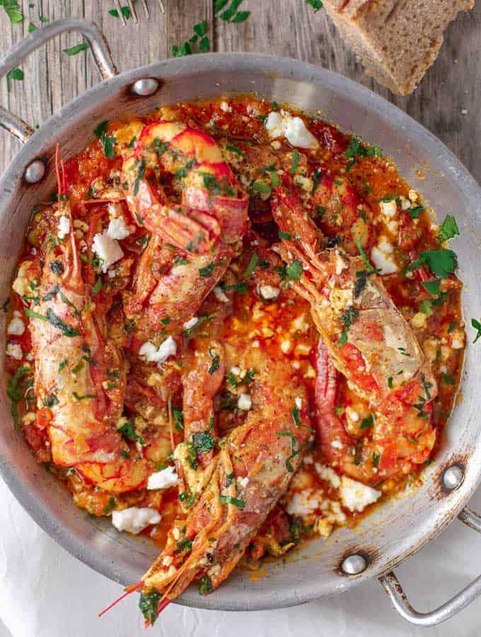 Greek Shrimp Saganaki
