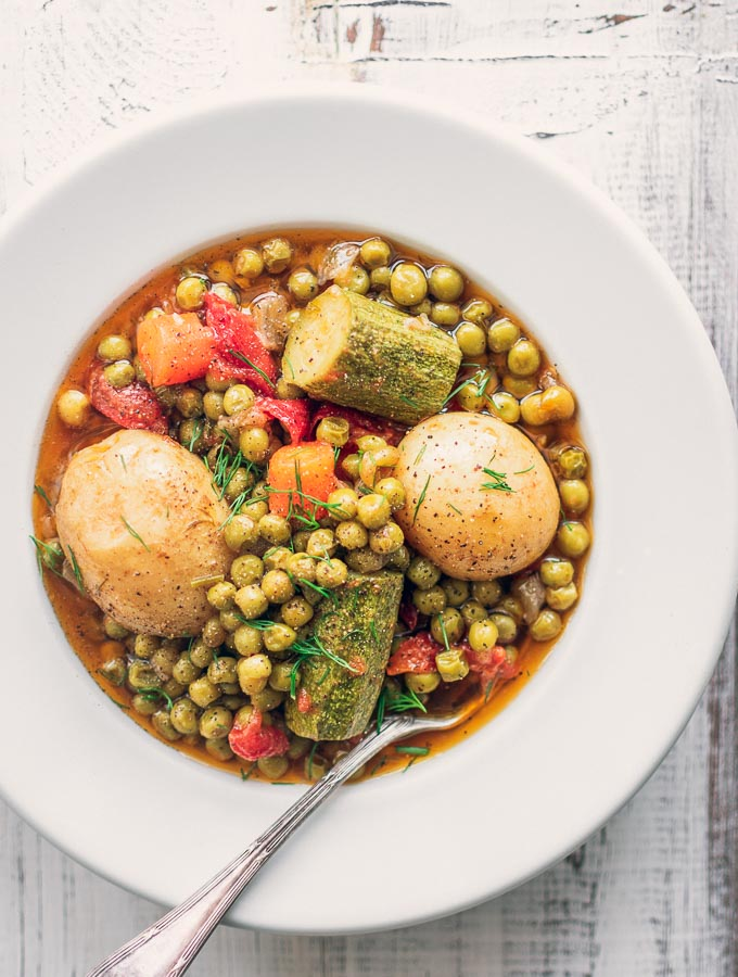 Green Pea Stew