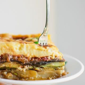Greek Vegetarian Moussaka