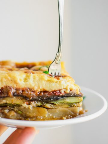 Greek Vegetarian Moussaka
