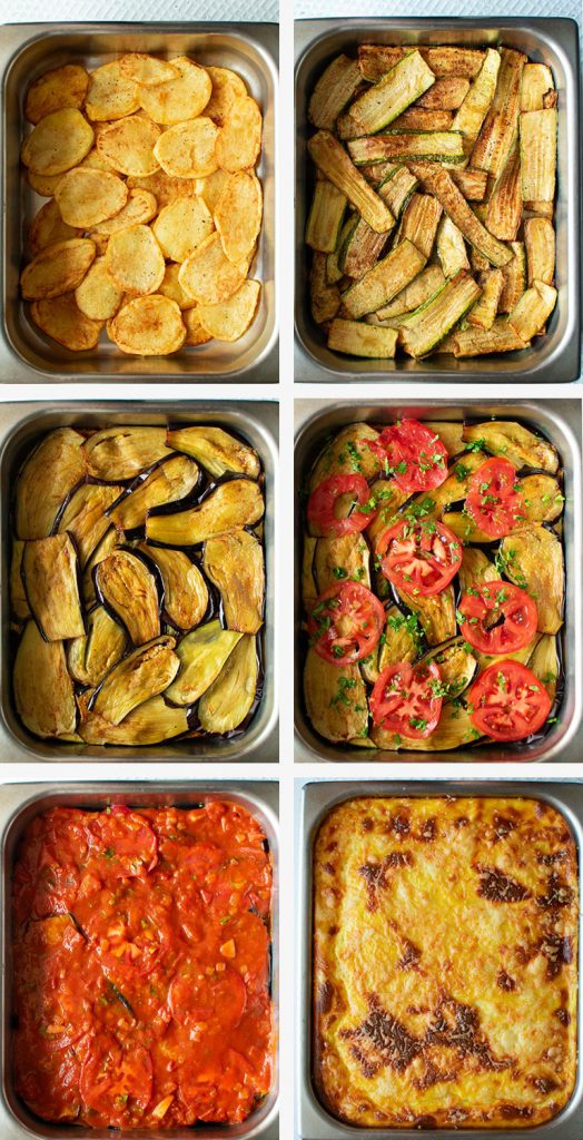The Most Scrumptious Vegetarian Moussaka Real Greek Recipes