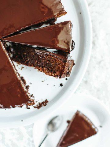Dark Chocolate Olive Oil Cake