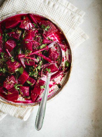 Simple Beetroot Salad