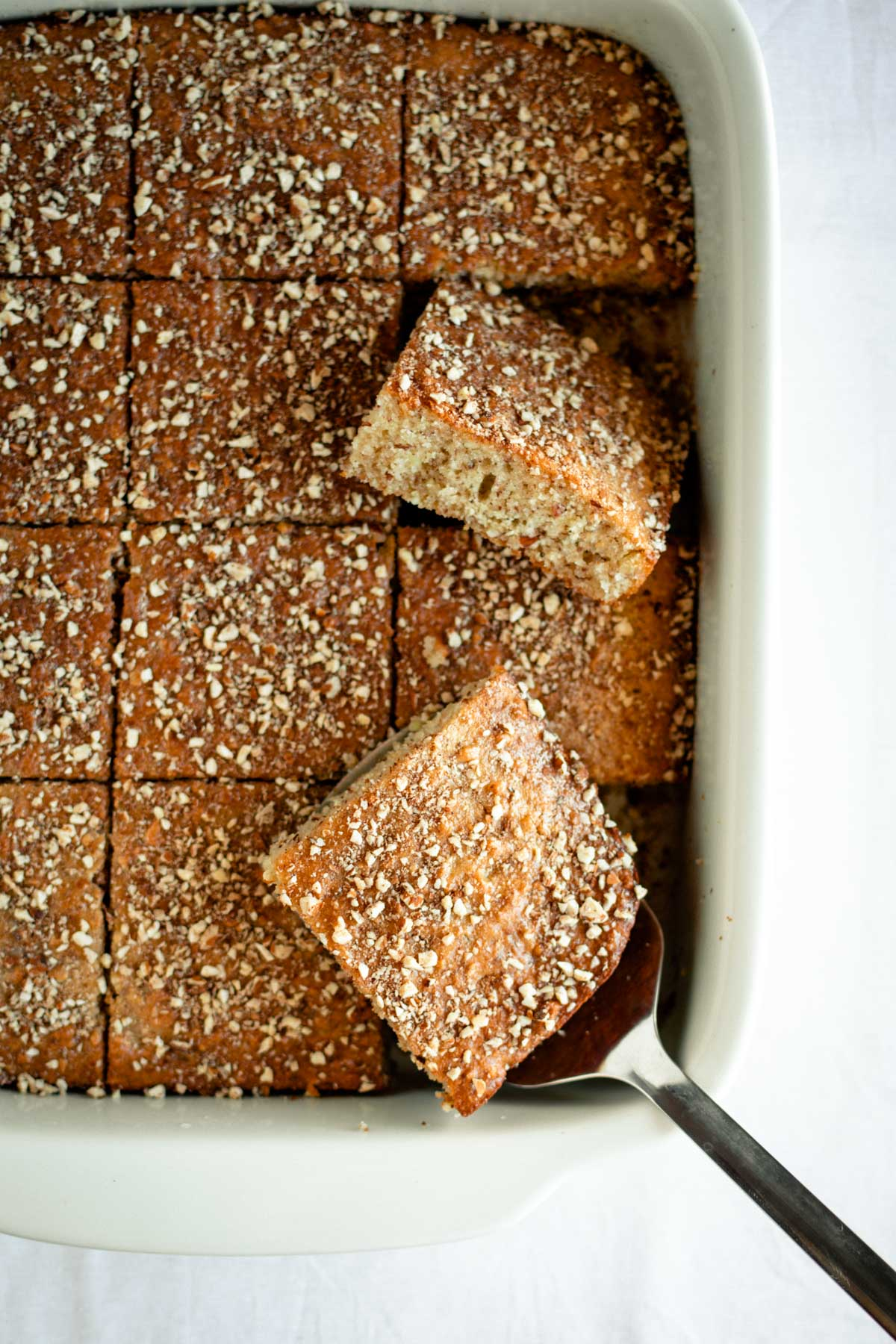 Semolina Almond Cake Recipe