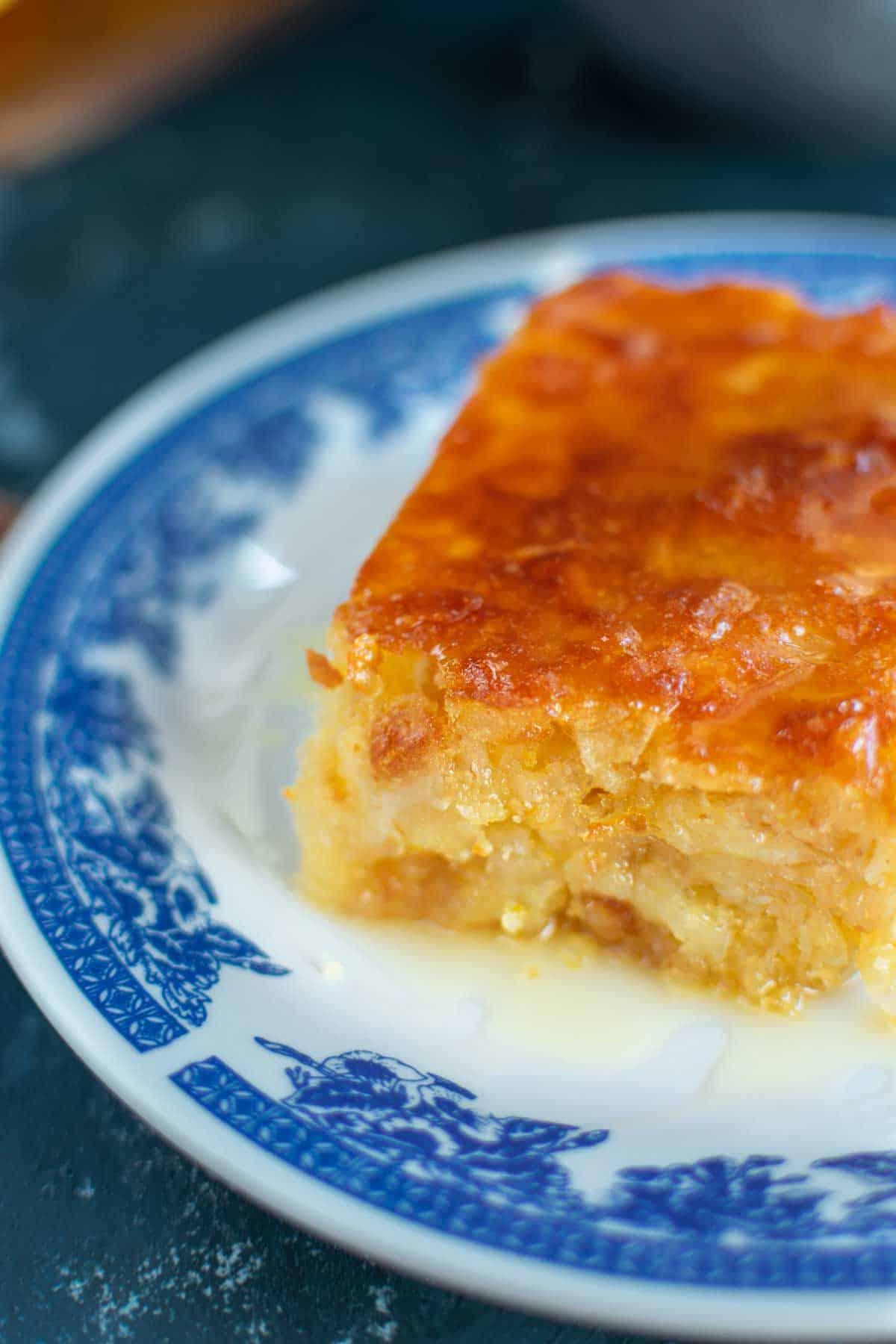 Orange Cake With Phyllo