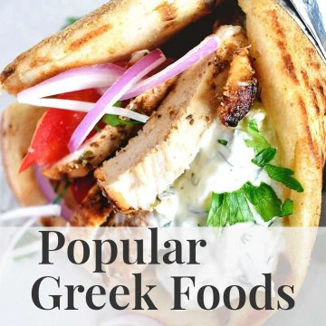 Popular Greek Food