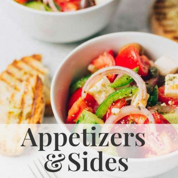 Greek Appetizers And Sides