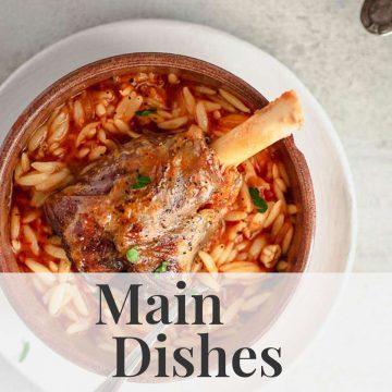 Greek Main Dish Recipes