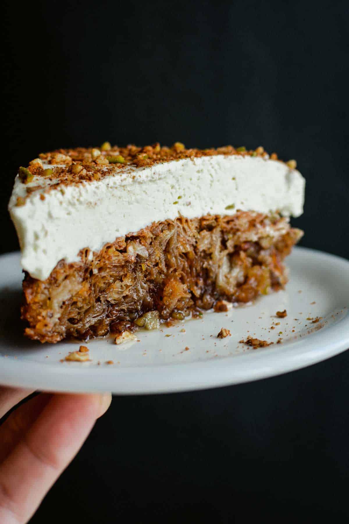 Easy Baklava Cheesecake