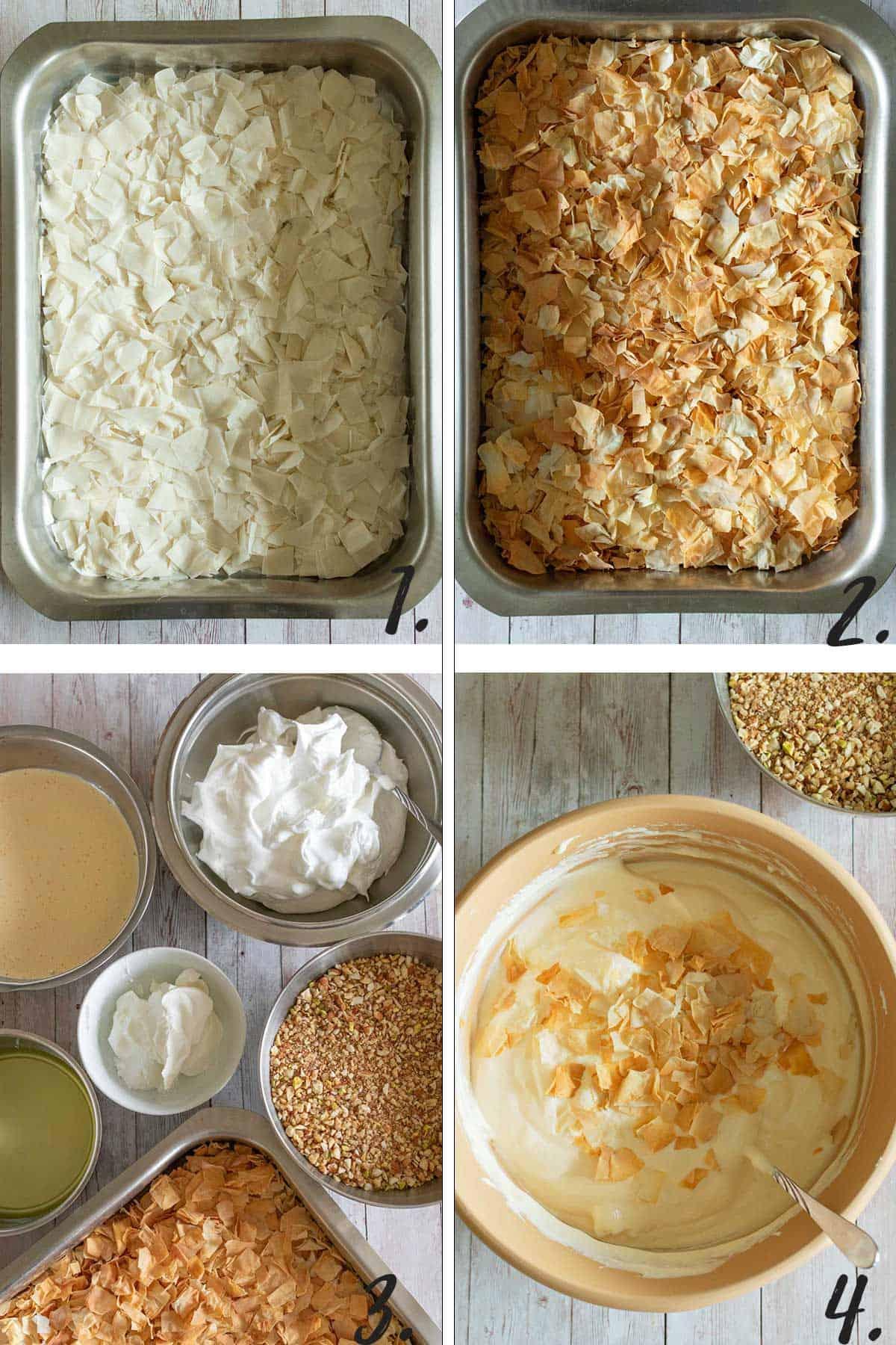 How To Make Cheesecake Baklava