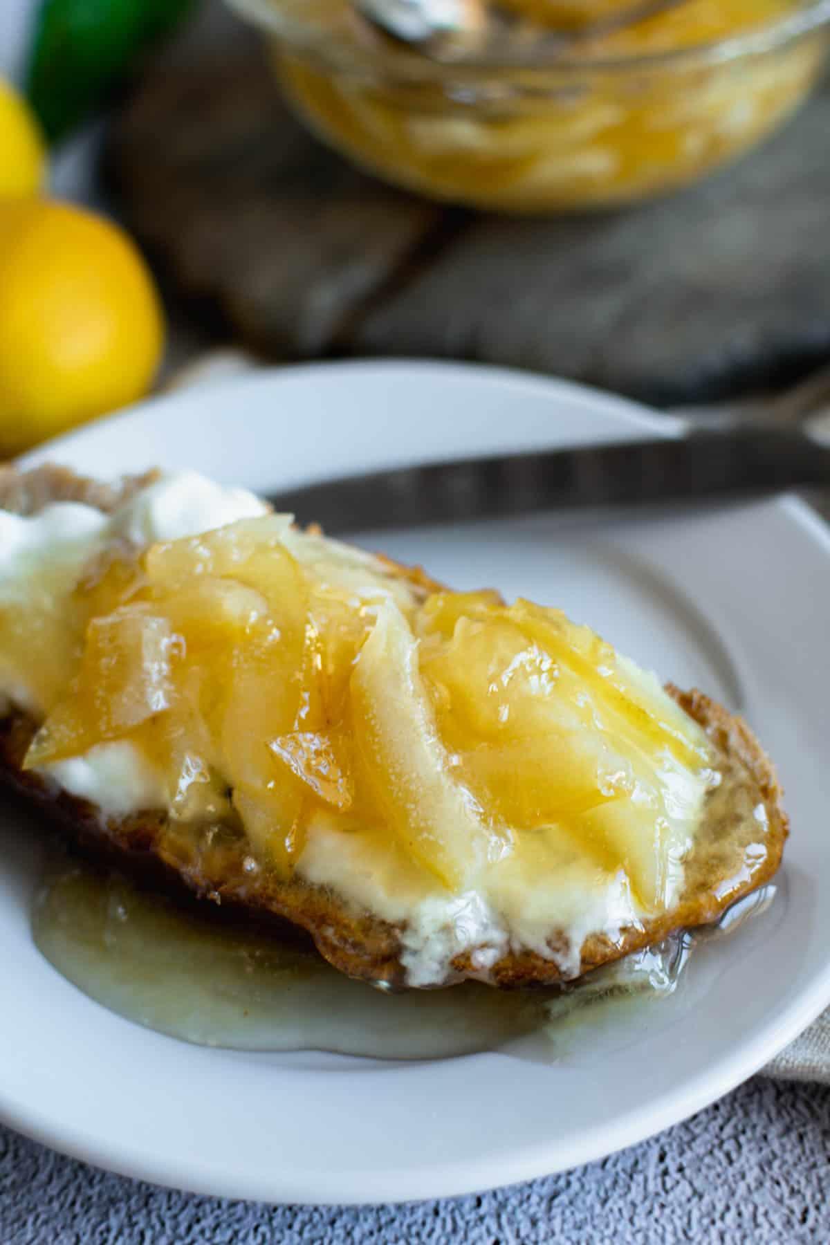Lemon Jam No Pectin