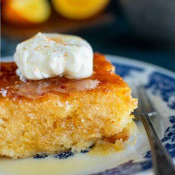 Portokalopita Cake