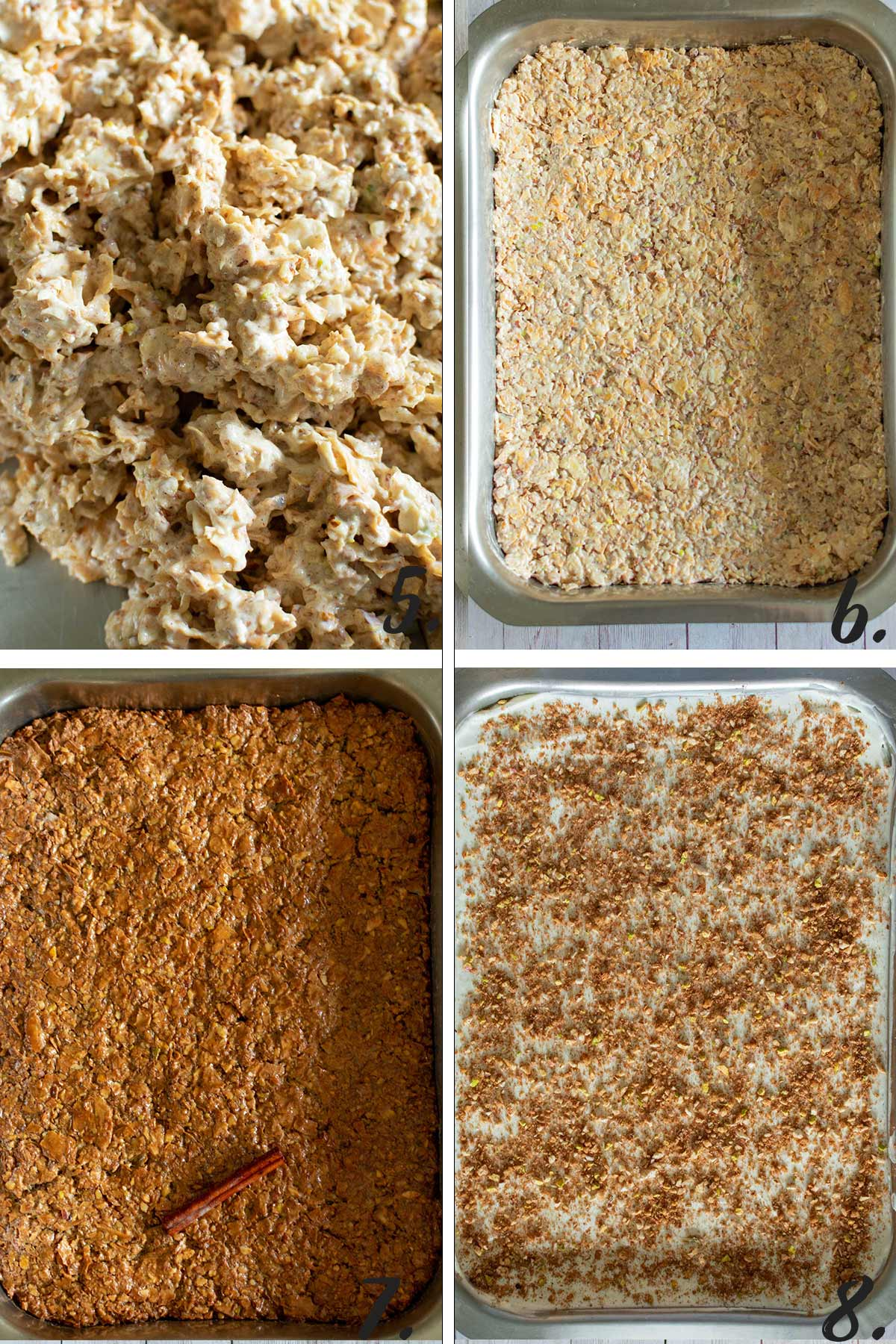 Step By Step Instructions On How To Make A Cheesecake Baklava