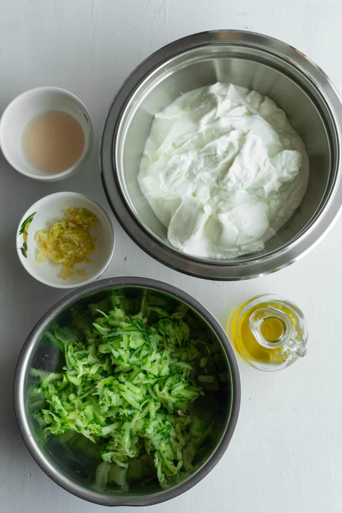 Tzatziki Ingredients