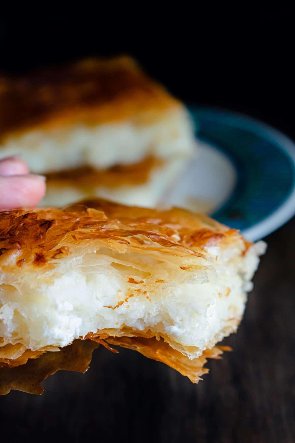 No egg Cheese Pie