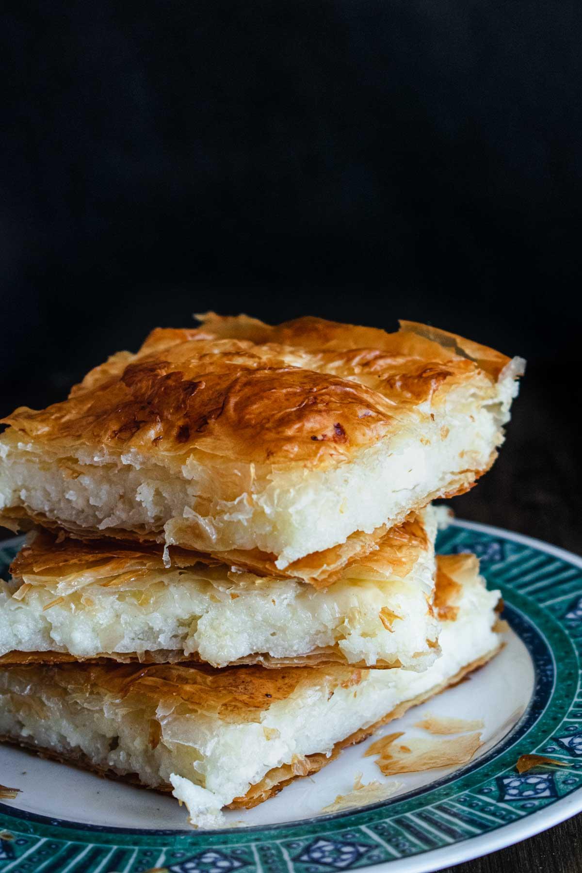 Sheet Pan Cheese Pie