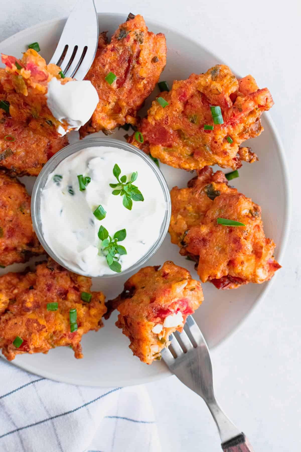 Greek Tomato Fritters